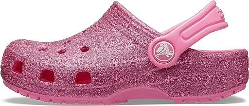 Crocs Kids' Classic Glitter Clog