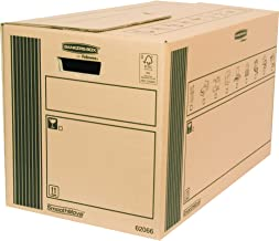 Bankers Box 6206602 - Caja de transporte y mudanza resistente, extra grande, 10 unidades