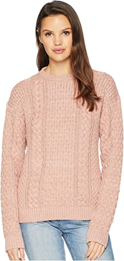 Erin Fisherman Cable Knit Sweater