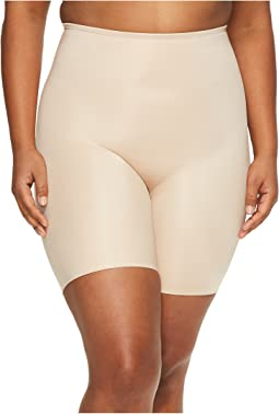Plus Size Power Conceal-Her Mid Thigh Shorts
