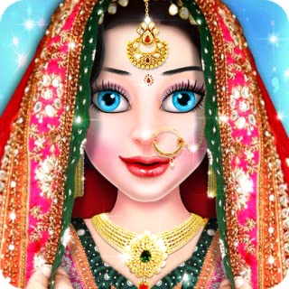 Royal Indian Girl Wedding Fashion