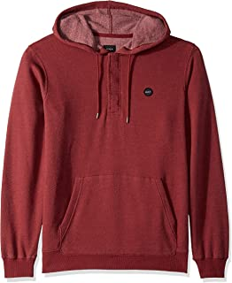 RVCA Men's Lupo Pullover Hooded Fleece Sweatshirt