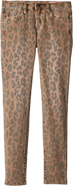 Cheetah Printed Skinny Jeans in Catwalk (Big Kids)