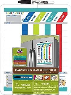 The Board Dudes Dry Erase Chore Chart 11x14