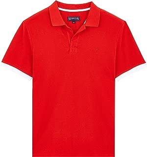 Vilebrequin Men Cotton Polo Shirt Solid