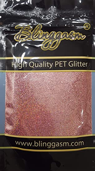 Toxic Solvent Resistant Size 1128 .008 .2mm Med Green Loose Glitter Extra Fine Glitter Tumbler Glitter  Non