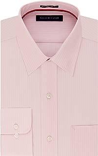 Men's Dress Shirt Regular Fit Non Iron Banker Stripe