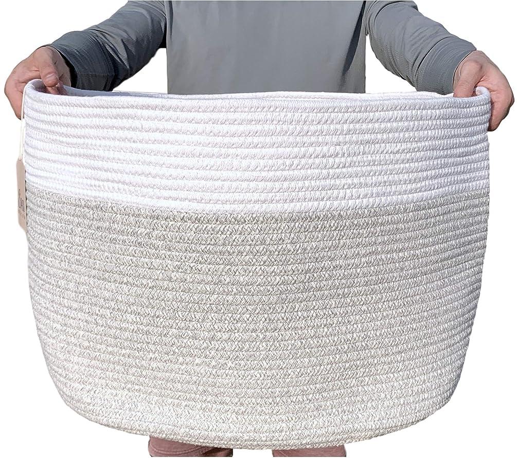 XXXLarge Cotton Rope Basket - 22