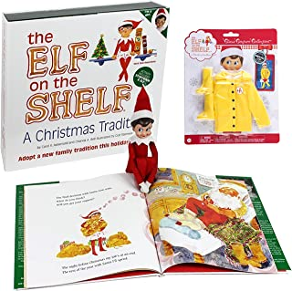 Elf on the Shelf Girl Elf Dress Up Set: Raincoat Set, Girl Scout Elf, And Elf on the Shelf Storybook
