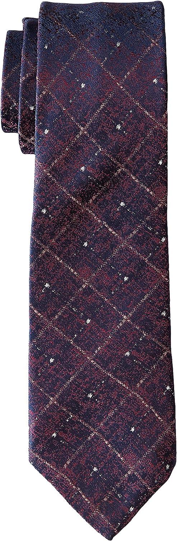 John Varvatos Star USA mens Fillmore Cross Hatch Pattern Tie