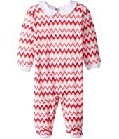 Missoni Kids Jersey Zigzag All Over Printed Long Sleeve One-Piece (Infant)