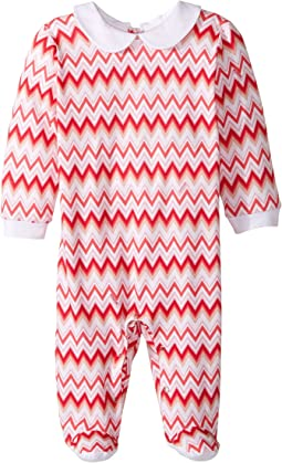 Missoni Kids - Jersey Zigzag All Over Printed Long Sleeve One-Piece (Infant)