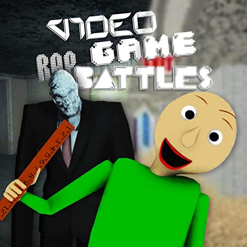 Slender Man Vs  Baldi's Basics by VideoGameRapBattles on