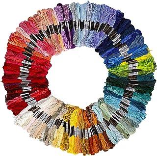 50 Colori No//Brand Heiqlay Matassine Punto Croce Filo Punto Croce Set Filo da Ricamo Filo da Ricamo Multicolore per Decorazione Prodotti di Artigianato per Bambini Adulti Principianti