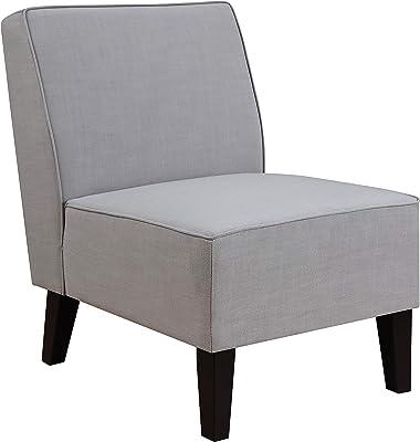 "Pulaski Ash Grey, 24.00"" W x 28.70"" D x 32.00"" H Slipper Accent Chair"