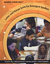 Words Their Way Letter and Picture Sorts for Emergent Spellers (2nd Edition)