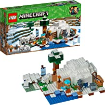 LEGO Minecraft The Polar Igloo 21142 Building Kit (278 Pieces)