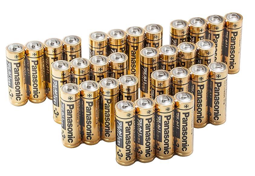 遅れナプキン幅パナソニック 単3形アルカリ乾電池 32本パック LR6RJA/32S【フラストレーションフリーパッケージ(FFP)】