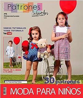 Revista patrones de costura infantil, nº 6. Moda Primavera-