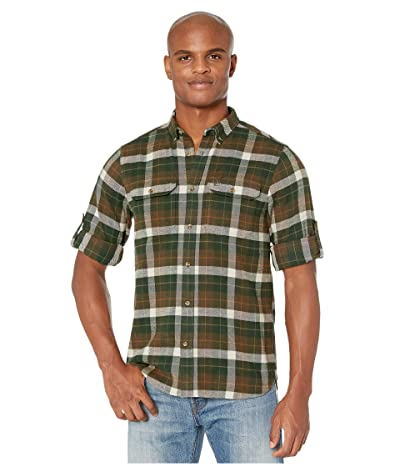 Fjallraven Sarek Heavy Flannel Shirt (Deep Forest) Men