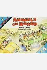 Animals on Board (MathStart 2) Paperback