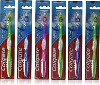 COLGATE Extra Clean Toothbrush Full Head FIRM #40 (Pack of 6)