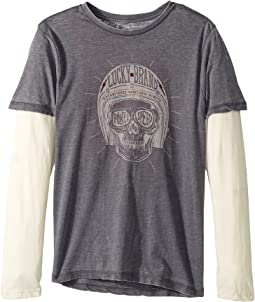 Lucky Brand Kids - Long Sleeve Graphic Doubler (Toddler)