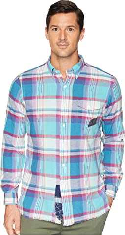 Madras Long Sleeve Sport Shirt