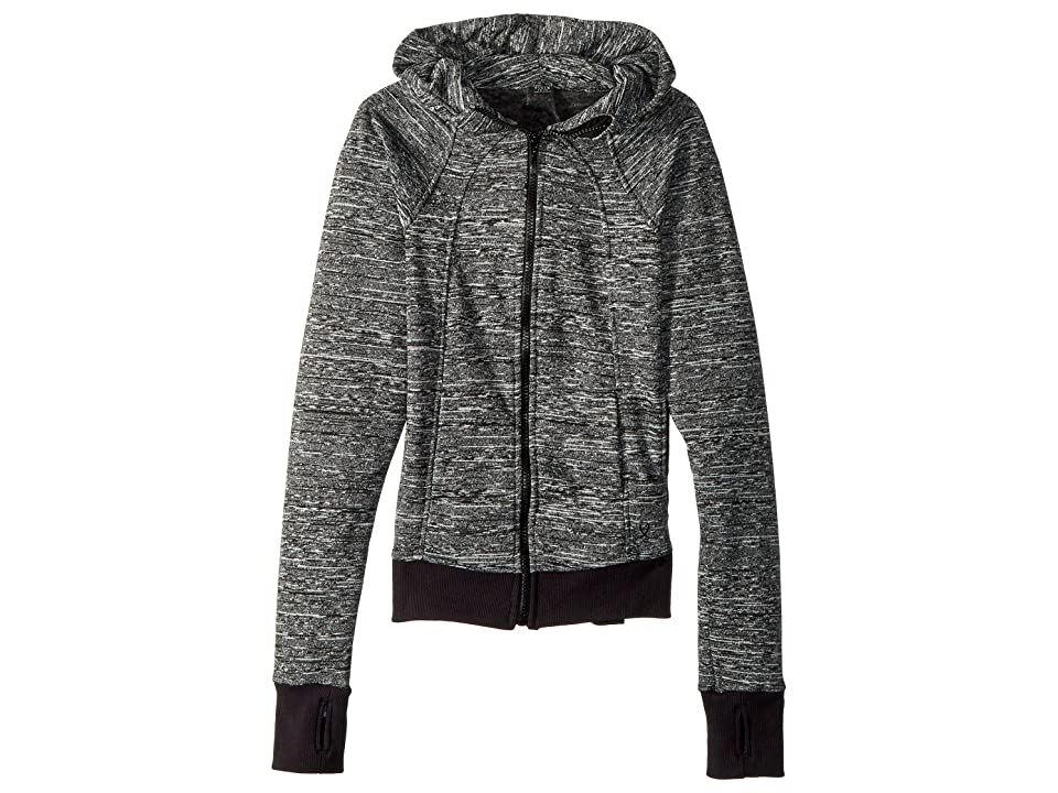 Bloch Kids Hooded Fleece Jacket (Big Kids) (Dovetail Grey) Girl