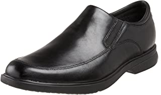ROCKPORT Men's Business Slip On Lightweight Aderner Shoes, Black, 7 US