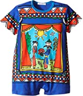 Dolce & Gabbana Kids - Jersey Theater Print One Piece (Infant)