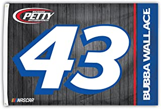 Darrell Bubba Wallace #43 2018 Number 3x5 Flag w/Grommets Outdoor House Banner Nascar Racing