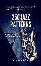250 Jazz Patterns (English Edition)