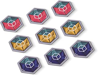 Crystal Cube NFC Tags ⬡ NEW EXTREME CAPACITY NTAG216 CHIP ⬡ 3 Stunning Dual Color Themes For Better Recognition ⬡ Our Tags Work On Metal ⬡ We Provide Supreme NFC Tags Experience