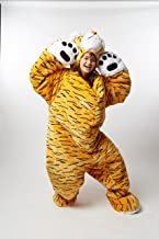 SnooZzoo Adult Tiger Sleeping Bag for Adults up to 75 inches Tall.