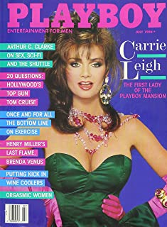 Playboy Magazine LOT of 6 Assorted 1986 MAR, APR, MAY, JUNE, JULY,NOV