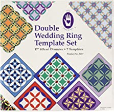 Marti Michell 4336997437 Double Wedding Ring Template