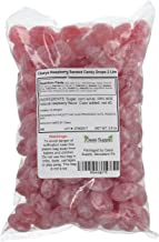 product image for Claeys Raspberry Sanded Candy Drops ~ 2 Lbs ~ Old Fashioned Flavor