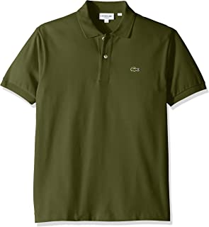 Lacoste Men's Classic Short Sleeve L.12.12 Pique Polo Shirt,Marsh,X-Large