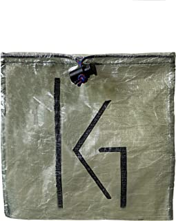 Ultralight Dyneema Stuff Sack - Cuben Fiber Bag, Backpacking bag, Draw String Cord, Light Weight Camping, Green