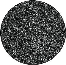 mDesign Soft Microfiber Polyester Non-Slip Round Spa Mat/Runner, Plush Water Absorbent Accent Rug for Bathroom Vanity, Bat...
