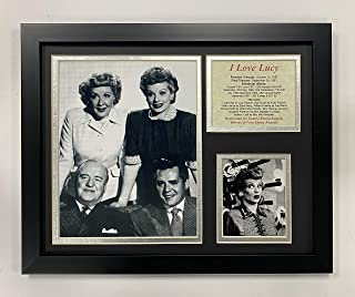 Legends Never Die I Love Lucy Group Framed Photo Collage, 11 by 14-Inch