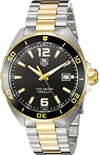 TAG Heuer Mens Formula 1 Swiss-Quartz Watch with Two-Tone-Stainless-