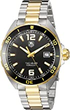 TAG Heuer Men's Formula 1 Swiss-Quartz Watch with Two-Tone-Stainless-Steel Strap, 20 (Model: WAZ1121.BB0879)