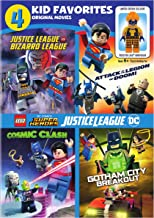 4 Kid Favorites:Lego Dc Super Heroes