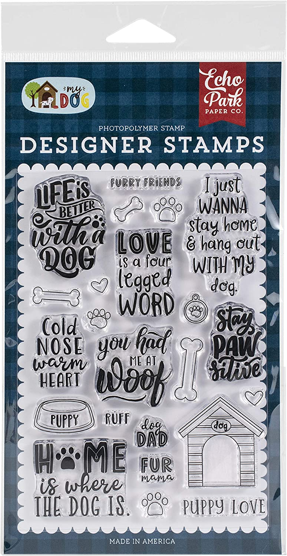 Echo Park Paper Company Set Furry Friends Ultra-Cheap Deals 2021 new Stamp