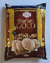 Swad Gold 100% Sharbati Whole Wheat Flour for the Perfect Fluffy Roti - 4 lbs