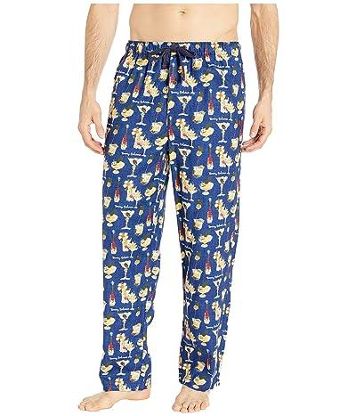 Tommy Bahama Cheers Flannel Pants (Holiday Cheer Ocean) Men