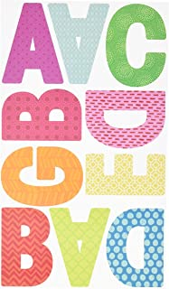 me & my BIG ideas mambiSTICKS Themed Stickers - Letters & Numbers - Multi-Color Stickers - Perfect for Scrapbooking & Paper Crafts - 10 Sheets