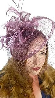 c614f6f4a Amazon.co.uk: £25 - £50 - Fascinators / Hats & Caps: Clothing